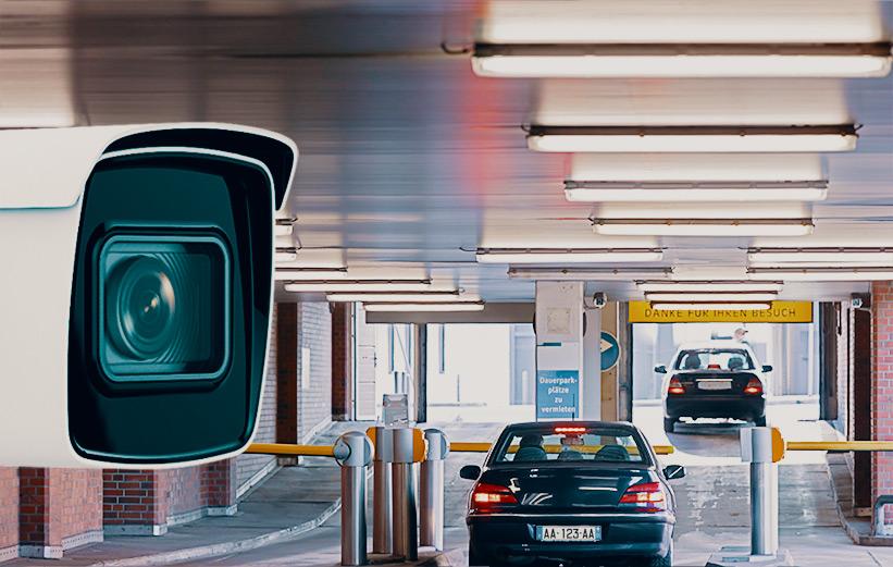 ANPR accès parking